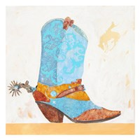Boy Boot Fine Art Print