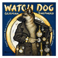 Watch Dog Fine Art Print