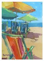 Beach Days Fine Art Print