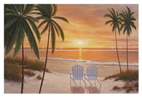 Tropical Sun Watch Fine Art Print