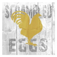 Scrambled Eggs Framed Print