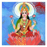 Lakshmi Fine Art Print