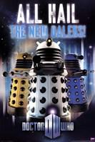 Doctor Who - All Hail The New Daleks Fine Art Print