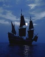 Replica of Mayflower II Fine Art Print