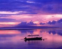 Sunrise, Bali/Sanur, Indonesia Fine Art Print