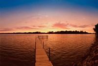 Lake Minnetonka Pier, Minnesota Fine Art Print