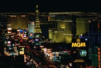The Strip, Las Vegas, Clark County, Nevada Fine Art Print