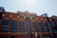 Facade of the Lucas Oil Stadium, Indianapolis, Indiana Fine Art Print