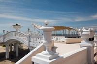 Resort at Riviera Beach, Russia Fine Art Print