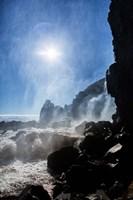 Oxararfoss Waterfalls, Thingvellir National Park, Iceland Fine Art Print