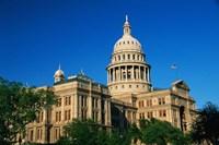 State Capitol Building, Austin, TX Fine Art Print