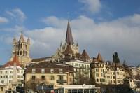Cathedral, Lausanne, Switzerland Fine Art Print