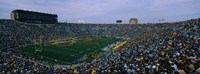 Notre Dame Stadium, South Bend, Indiana Fine Art Print