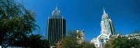 Skyscrapers, Mobile, Alabama Fine Art Print
