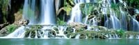 Waterfall Snake River, Bonneville CO, Idaho Framed Print