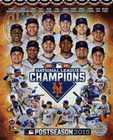 New York Mets 2015 National League Champions Composite Fine Art Print