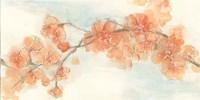 Peach Blossom II Framed Print