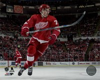 Dylan Larkin 2015-16 Action Fine Art Print