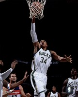 Giannis Antetokounmpo 2015-16 Action Fine Art Print