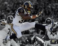 Todd Gurley 2015 Spotlight Action Fine Art Print