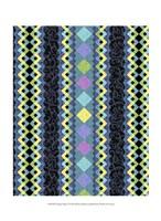 Vintage Stripe I Framed Print