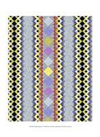 Vintage Stripe IV Framed Print