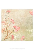 Sweet Cherry Blossoms I Framed Print