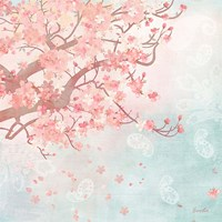 Sweet Cherry Blossoms III Fine Art Print
