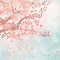 Sweet Cherry Blossoms III Framed Print