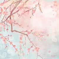 Sweet Cherry Blossoms IV Fine Art Print