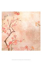 Sweet Cherry Blossoms VI Framed Print