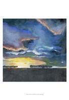Vivid Sunset II Framed Print