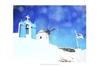 Santorini I Framed Print