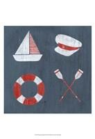 Nautical Quadrant II Framed Print