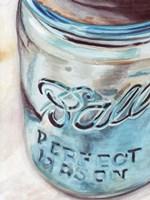Mason Jar I Framed Print