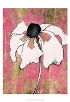 Acid Floral I Framed Print