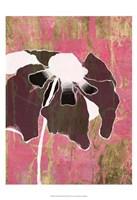 Acid Floral II Framed Print