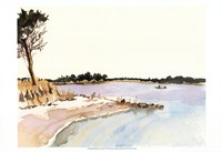 Minimalist Coastline I Fine Art Print