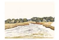 Minimalist Coastline II Fine Art Print
