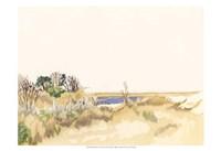 Minimalist Coastline III Fine Art Print