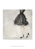 Little Black Dress II Fine Art Print