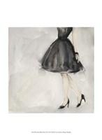 Little Black Dress II Framed Print