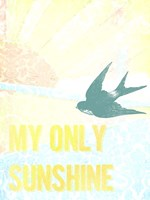 My Only Sunshine II Framed Print