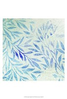Cerulean Foliage II Fine Art Print