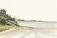 Solitary Coastline II Fine Art Print