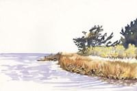 Solitary Coastline III Fine Art Print