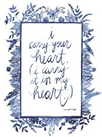 Love Quote III Framed Print