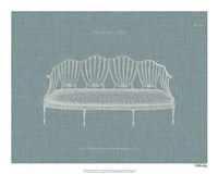Hepplewhite Sofas I Fine Art Print