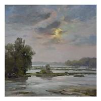 James River from Belle Isle II Fine Art Print