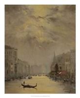 Venice Evening Gold Fine Art Print